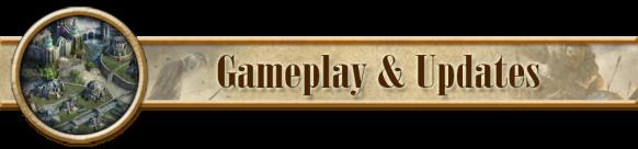 header gameplay and updates