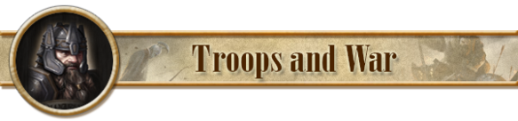 header troops and war