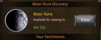 moon empty