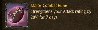 bat major combat rune