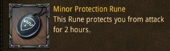 bat minor protection rune