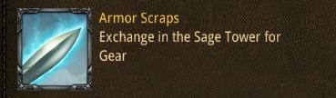 camp armor scraps