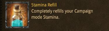 camp stam refill