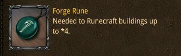 con forge rune