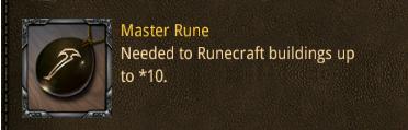 con master rune