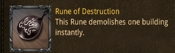 con rune of destruction