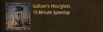 glass gollum