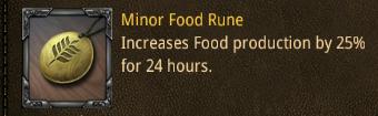 rss minor food