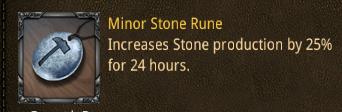 rss minor stone