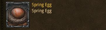 Sping egg
