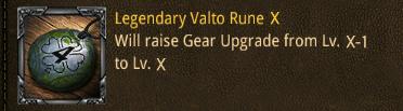 valto legendary