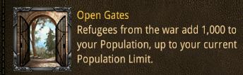 var open gates