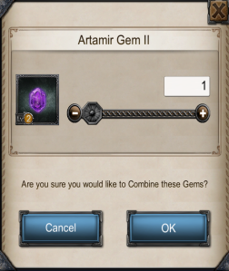 how many forge gems