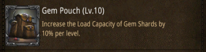 research gem pouch
