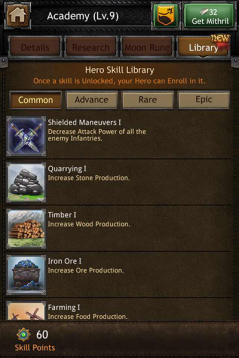 academi skill library