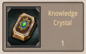 knowldge crystal